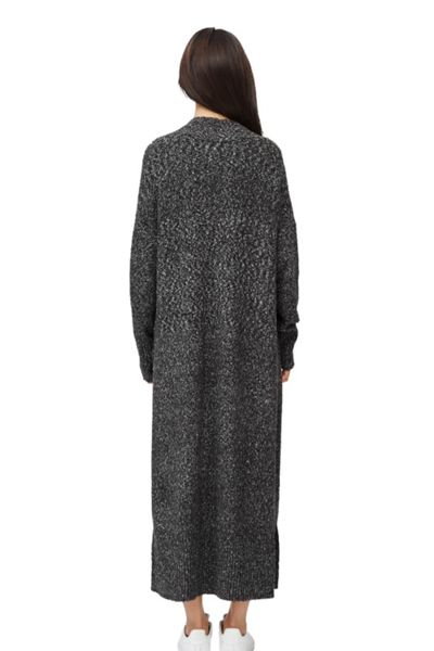 French Connection Flecked Flora Long Cardigan