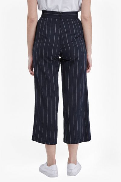 French Connection Riviera Stripe Flared Trousers