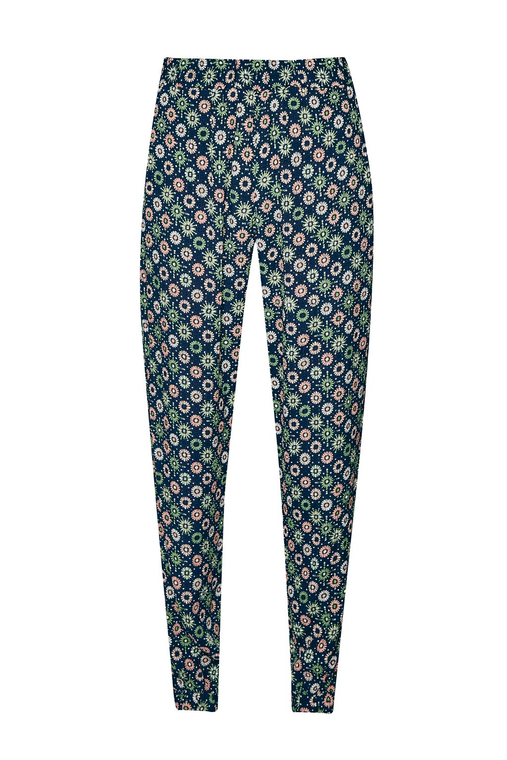 French Connection Medina Tile Printed Joggers, Green