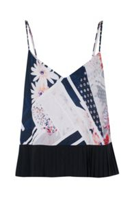 French Connection Samba Avenue Floral Camisole