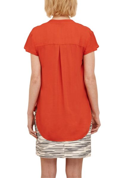 Great Plains Belle Crepe Blouse