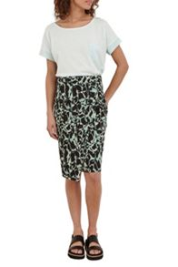 Great Plains Silhouette Asymmetric Hem Skirt