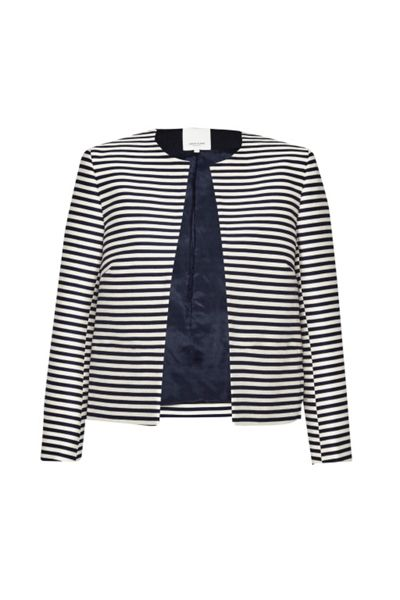 Great Plains Bella Breton Stripe Jacket