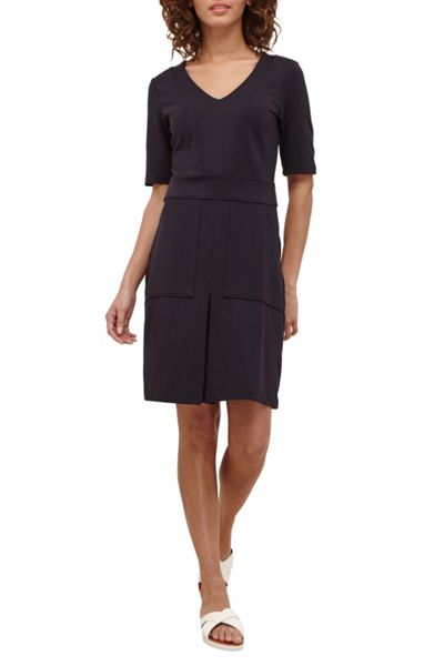 Great Plains Polly Ponte Utility Dress