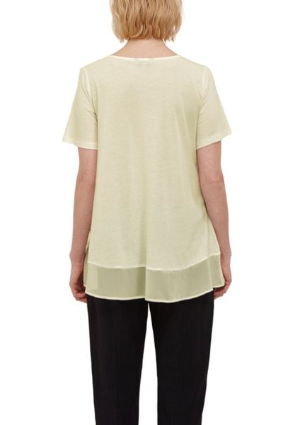 Great Plains Featherweight Jersey Trim T-Shirt
