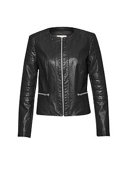 Great Plains Layla Faux Leather Jacket