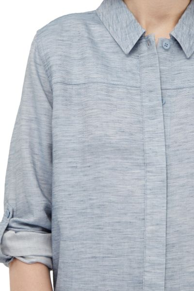 French Connection Tencel Chambray Shirt Dress