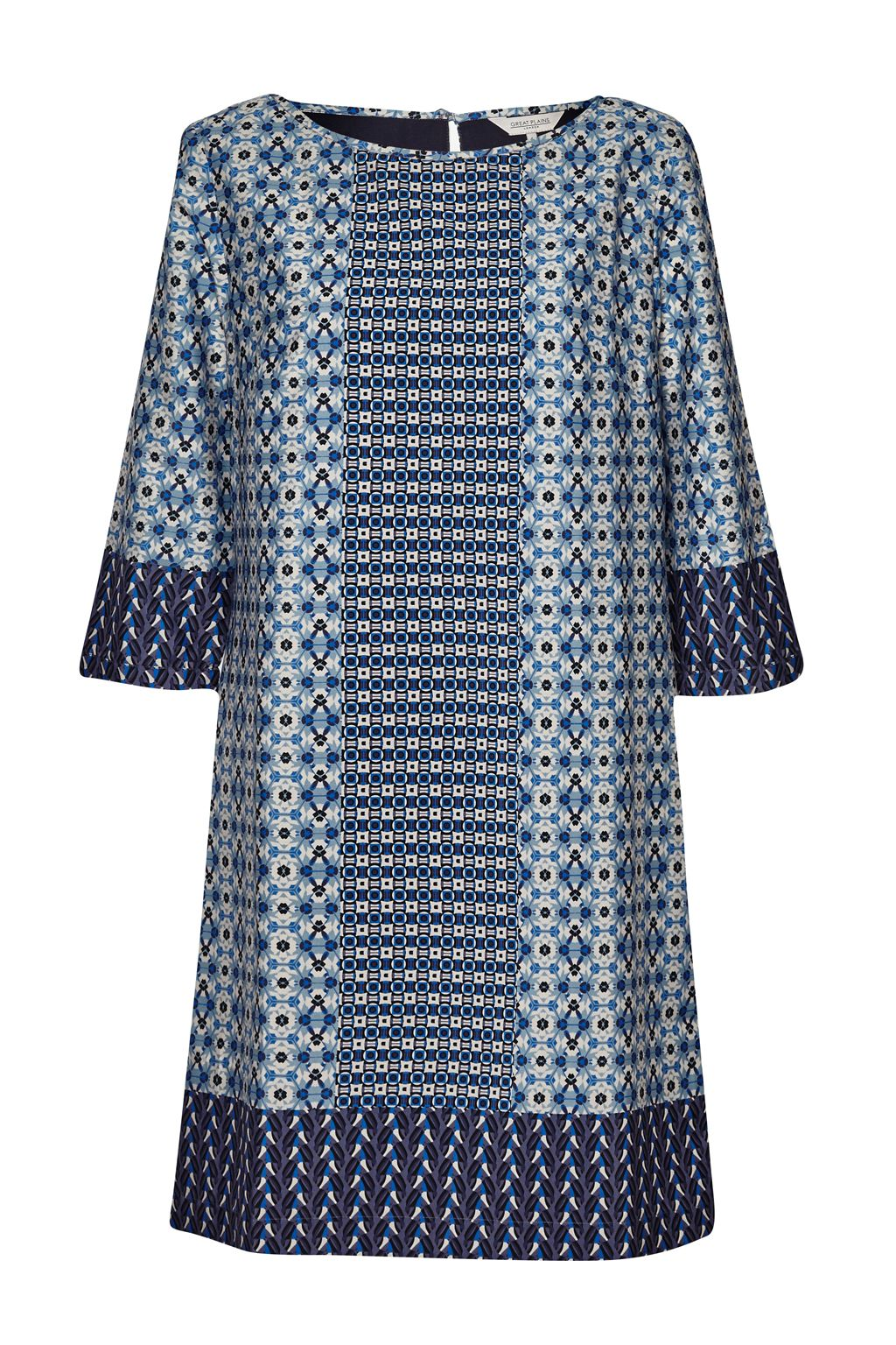 Great Plains Seville Tunic Dress, Blue