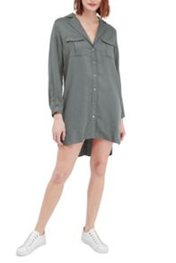 French Connection Kruger Tencel Shirt Dress