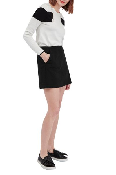 French Connection Kenyan Twill Mini Skirt