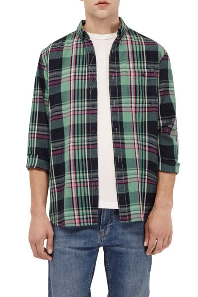 French Connection S16 Gasser Grindle Plaid Shirt