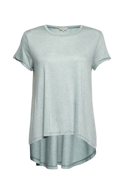 Great Plains Summer Melange Dropped Hem Tee