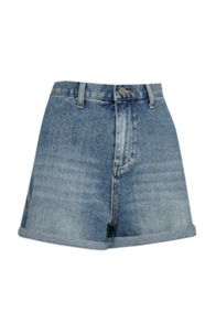 French Connection Mallory High Waist Denim Shorts
