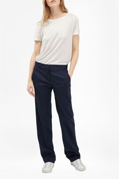 French Connection Avenue Suiting Straight Leg Trousers