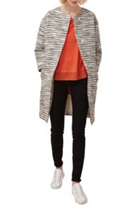 Great Plains Riviera Stitch Collarless Coat