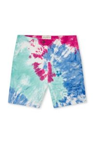 French Connection Tie Dye Highway Shorts
