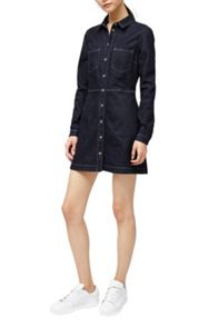 French Connection Edie Denim Shirt Dress