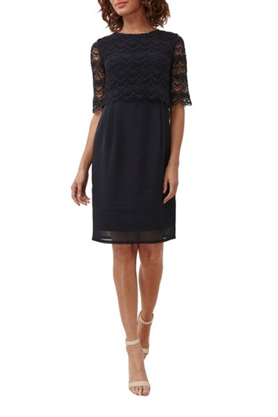 Great Plains Sicily Lace Wing Back Dress