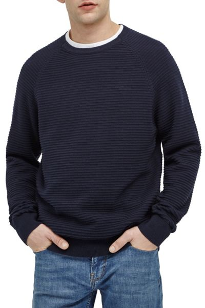French Connection Tidal Mozart Ribbed Jumper