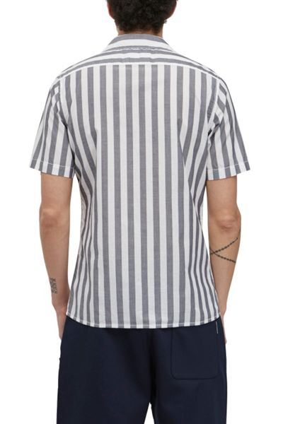 French Connection Mithun Stripe Short Sleeved Shirt