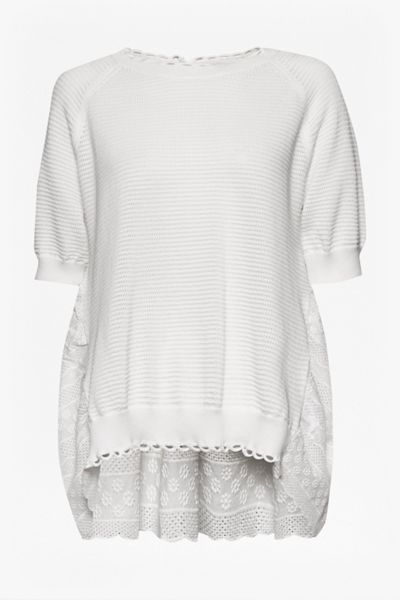 French Connection Celia Scallop Knitted Jumper