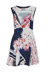 French Connection Samba Avenue Floral Dress