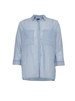 Summer Stripe Boxy Shirt