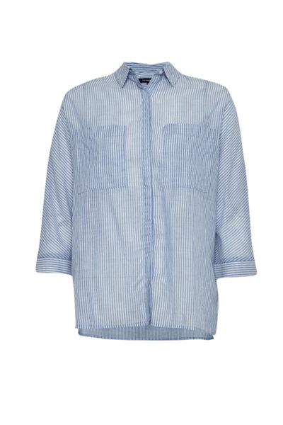 French Connection Summer Stripe Boxy Shirt
