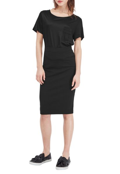 French Connection Nadine Stretch Pencil Skirt