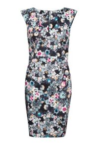 French Connection Isola Bloom Floral Print Dress