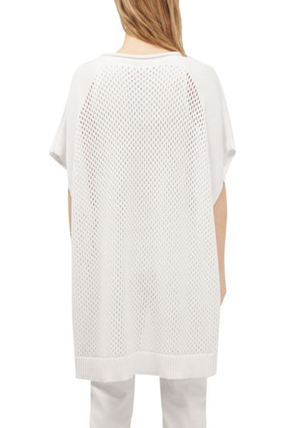 French Connection Fishermans Net Kimono Sleeve Jumper
