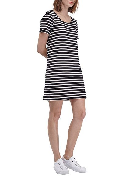 French Connection Annie Striped T Shirt Dress House Of