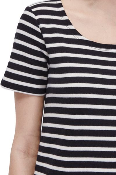 French Connection Annie Striped T-Shirt Dress