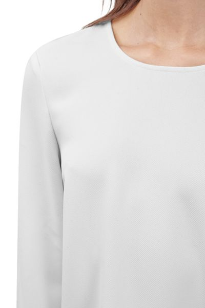 French Connection Arrow Crepe Top