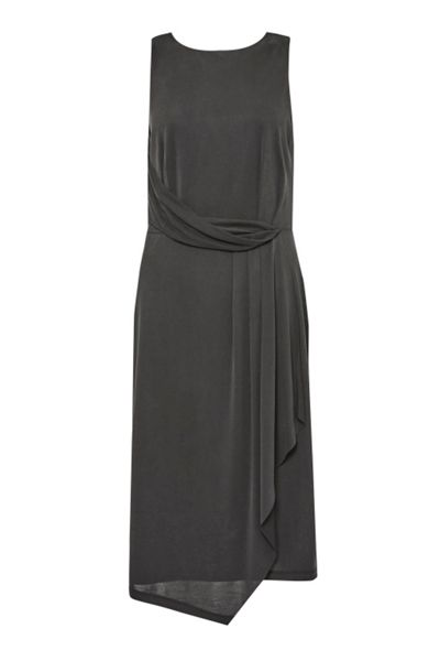 Great Plains Coolio Cupro Drape Dress