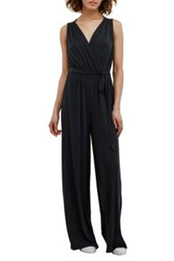 Great Plains Cooloi Cupro Tie Waist Jumpsuit