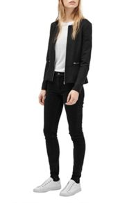 French Connection Nadine Stretch Peplum Jacket