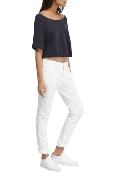 French Connection Tilly Cropped Knitted Jumper