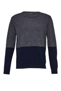 French Connection Winter Block Lambswool Jumper