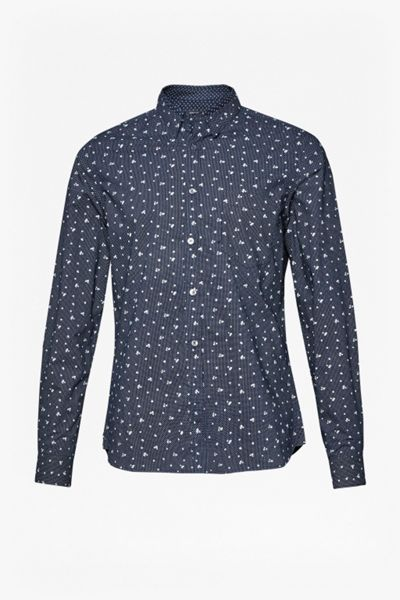 French Connection Winter Premium Mix Collar Shirt