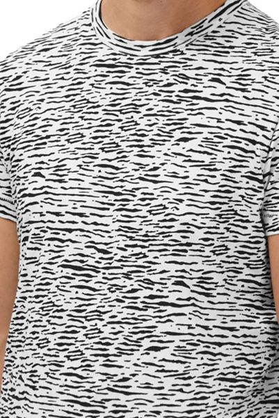 French Connection Tiger Stripe Printed T-Shirt