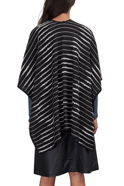 Great Plains Cloudy Day Poncho
