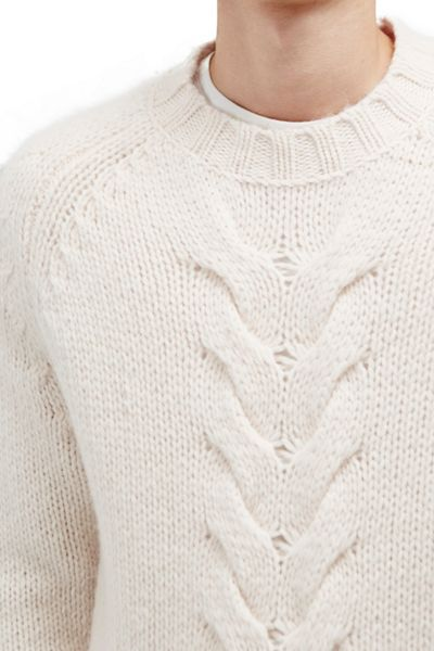French Connection Ridge Cable Knits Jumper
