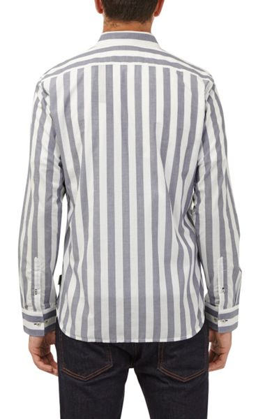 French Connection Wing Stripe Printed Shirt