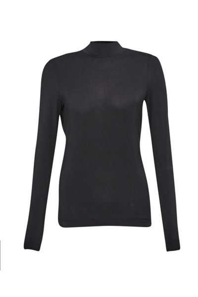 French Connection Lexy Mock Neck Top