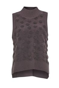 French Connection Loopy Polka Sleeveless Textured Knit