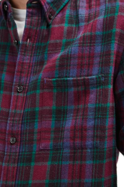 French Connection Double Ridge Flannel Shirt