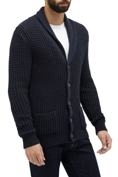 French Connection Waffle Stitch Knits Cardigan