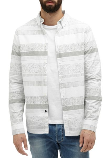 French Connection Komatite Layered Stripe Shirt