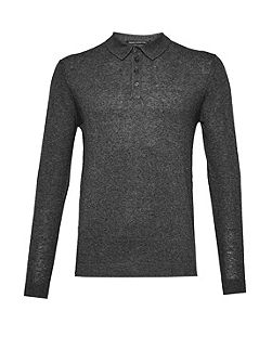 Autumn Portrait Long Sleeve Polo Shirt